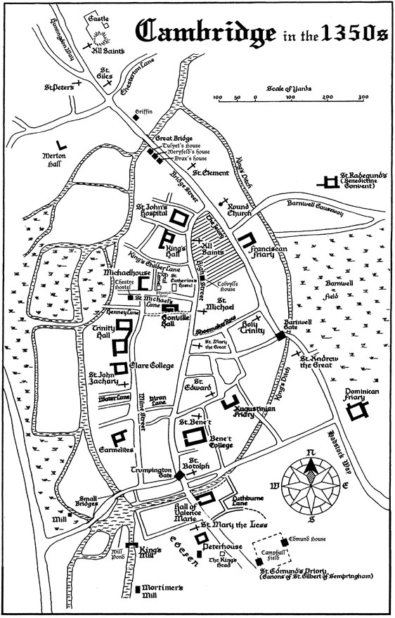 Cambridge in the 1350s